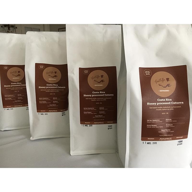 Costa Rica Honey processed Caturra