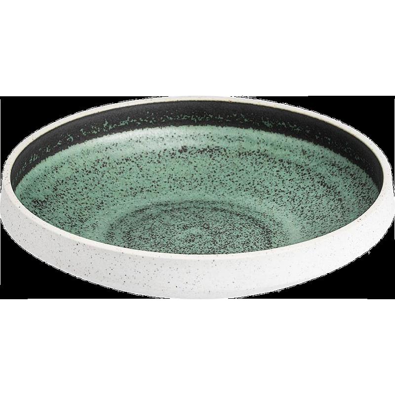 Salt skål grøn 35 cl ø 18 cm