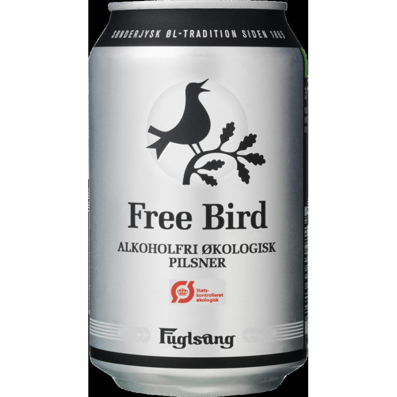 Freebird Pilsner Økologisk Alkoholfri
