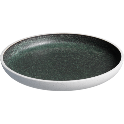 Salt tallerken grøn 23 cm Unika