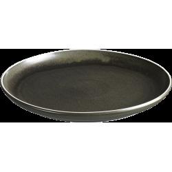 Dust tallerken uden fane flad mørkegrøn ø27 cm