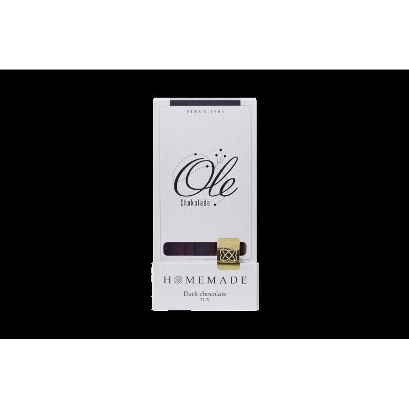 Ren Chokolade Mørk 71% - Bestil på Vinogkokken.dk klik her